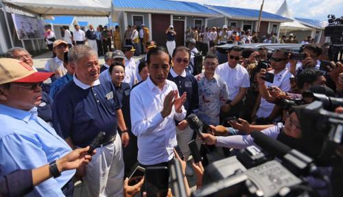 Dukung Rekonstruksi Sulteng, Jokowi Apresiasi ETF