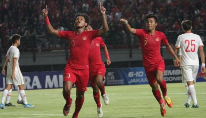 Pertandingan Timnas Indonesia U-19 Vs Timor Leste Disiarkan Langsung, Ini Jadwalnya - Warta Ekonomi