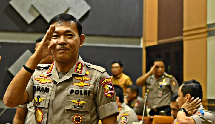 Ditodong Pertanyaan Kasus Novel, Idham Aziz Nyelonong Kabur! - Warta Ekonomi
