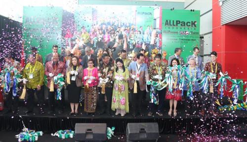 Foto Pameran AllPack dan Print 2019, Harapan Pertumbuhan Industri Percetakan
