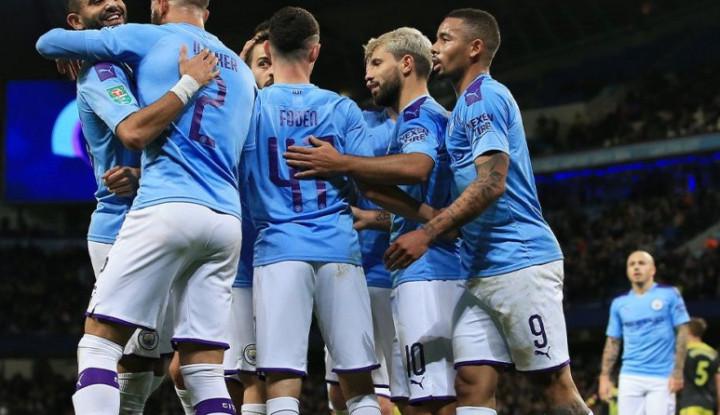 Bungkam Southampton 3-1, Man City Melaju ke Perempat Final Piala Liga Inggris - Warta Ekonomi