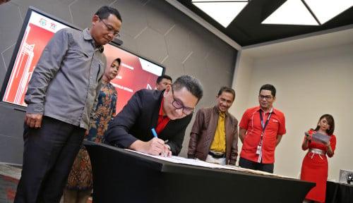 Foto Bersama Pemda Gorontalo, Telkomsel Akselerasikan Pengembangaan Konsep Smart City