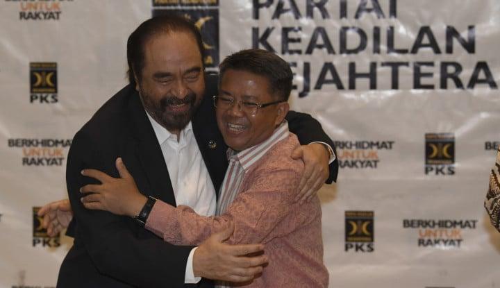 Temui PKS, Surya Paloh Gertak Jokowi? - Warta Ekonomi