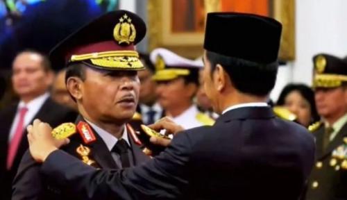 Foto Ditanya Jokowi Soal Kasus Novel, Kok Kapolri Hindari Wartawan?