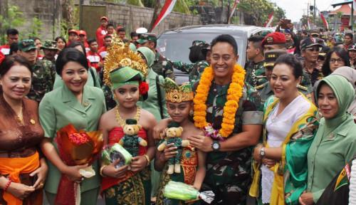 Foto Tutup TMMD ke-106, Kasad Apresiasi Semangat Bupati Tabanan