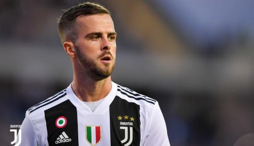 Foto Begini Komentar Pjanic Soal Ketajaman Striker Juventus
