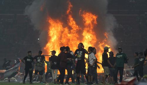 Stadion GBT Rusak Terbakar, Komdis PSSI Beri Sanksi Berat buat Persebaya
