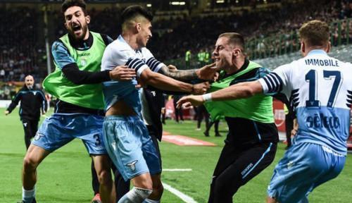 Foto Usai Permalukan AC Milan, Lazio Hentikan Rapor Buruk Ini