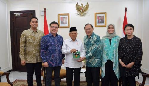 Foto Wapres Ma'ruf: Khilafah Gak Bisa Masuk, Karena Indonesia Sudah NKRI