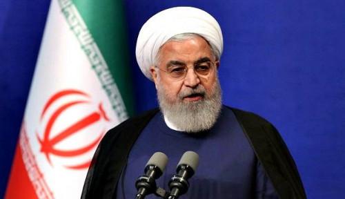 Foto Rouhani: AS Tidak Akan Lanjutkan Perang dengan Iran