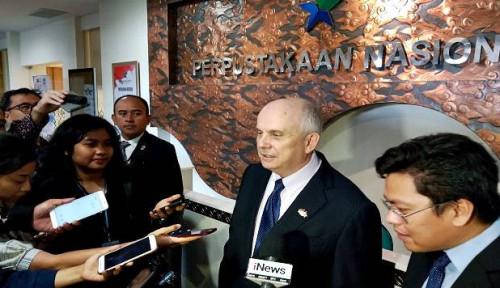 Foto AS Nyatakan Siap Kerja Sama dengan Indonesia dalam Bidang. . .