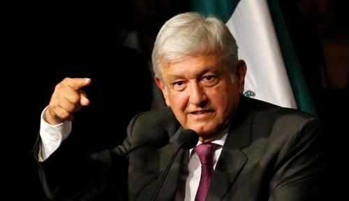 Alamak, Meksiko Laporkan Presidennya Terinfeksi Corona