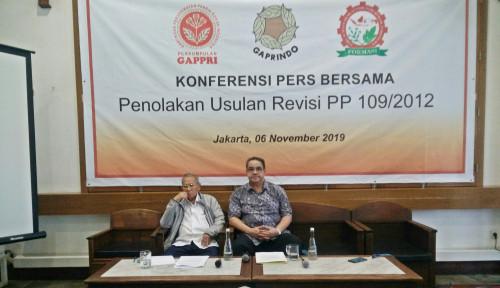 Tiga Asosiasi Industri Rokok Tolak Usulan Revisi PP 109/2012