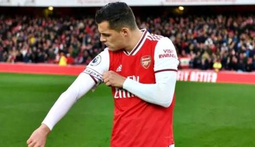 Foto Terungkap! Ini Alasan Emery Copot Ban Kapten Arsenal dari Granit Xhaka