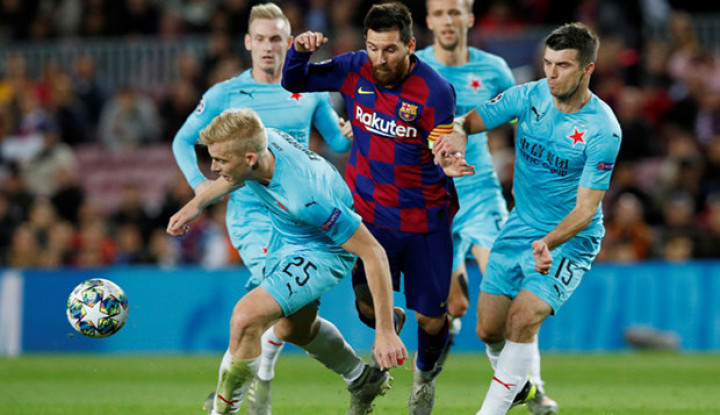 3 Alasan Barcelona Ditahan Imbang Slavia Praha - Warta Ekonomi