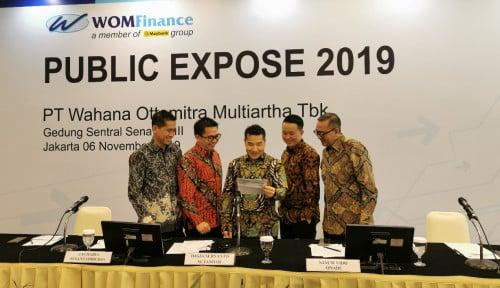 WOMF Kuartal III-2019, WOM Finance Catatkan Laba Bersih Rp156 M