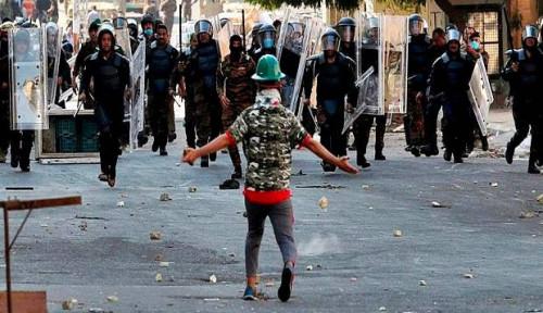 Foto PBB Cemaskan Tingkat Kematian Demonstran di Irak