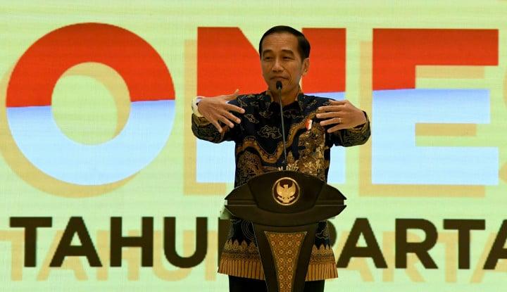 Sindir Surya Paloh, Jokowi Kasih Warning ke Nasdem - Warta Ekonomi