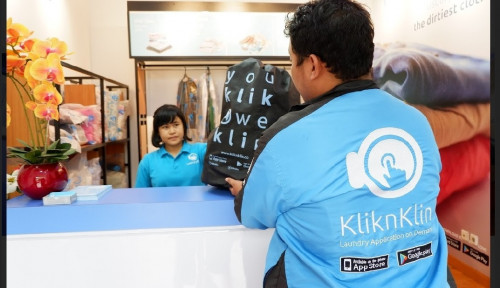 Foto Startup Laundry KliknKlin Berencana Ekspansi ke Kancah International