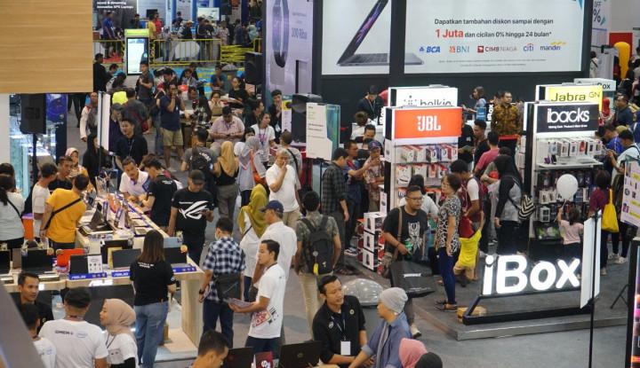 Digelar 5 Hari, Indocomtech 2019 Raup Transaksi  Rp700 M - Warta Ekonomi