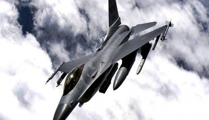 akibat salah target, jepang paksa as tangguhkan latihan terbang f-16