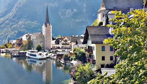 Traveling ke Hallstatt dan Salzburg