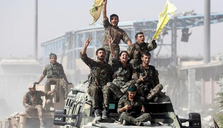 Dilihat sebagai Penyeimbang, Israel Mau Bantu Milisi Kurdi Suriah