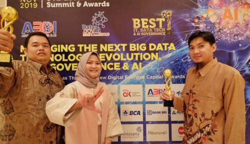 Foto Lintasarta Boyong Dua Penghargaan Best IT & Data Tech Governance