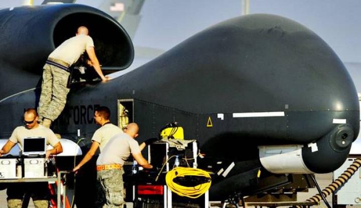 pentagon bantah iran tembak jatuh drone as