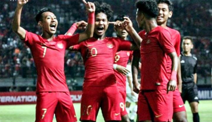 selamat! timnas indonesia u-19 berhasil menyenggol posisi korea utara