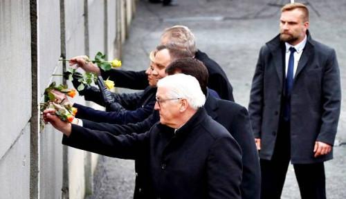 Foto Sudah 30 Tahun, Jerman Peringati Runtuhnya Tembok Berlin