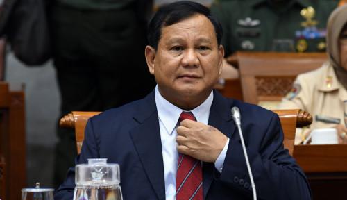 Foto Prabowo Paparkan Konsep Pertahanan, Politikus Golkar: Anggaran Pertahanan Bukan Alutsista Saja