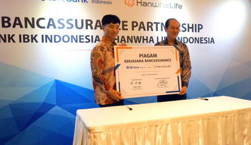 AGRS Gaet Bank IBK, Hanwha Life Kejar Target APE Rp36 Miliar