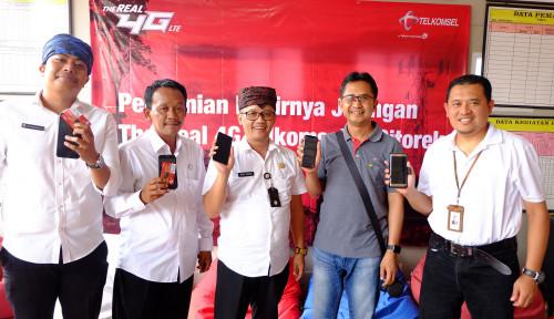 Foto 4G LTE Telkomsel Hadir di Negeri di Atas Awan