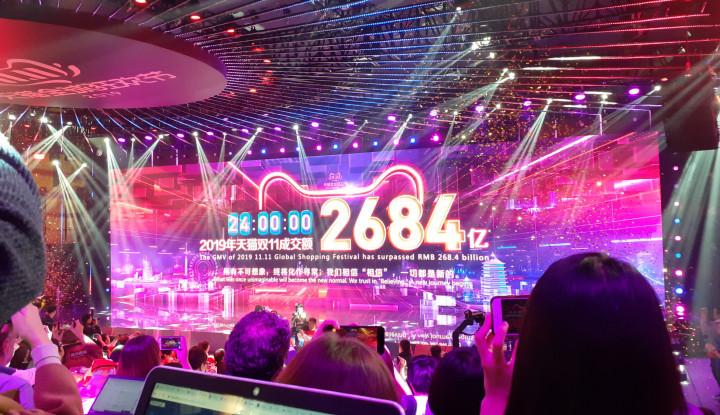 Foto Gelaran 11.11 Alibaba Rampung, Merek-Merek Smartphone Ini Laris-Manis!