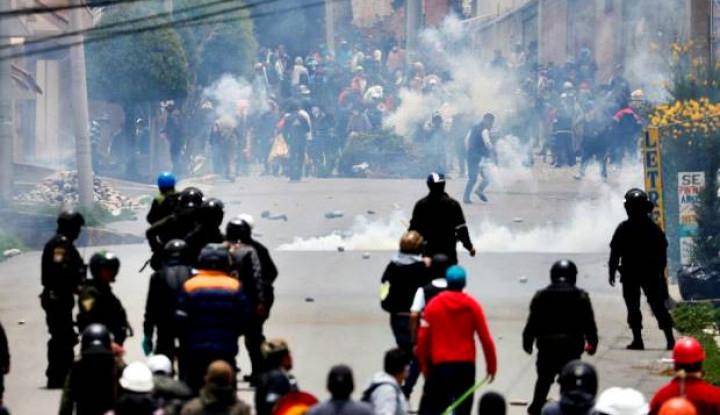 Pendukung Morales Bentrok, Bolivia Mencekam - Warta Ekonomi