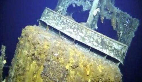 Foto Hilang pada 1944, Kapal Selam Bekas PD II Ditemukan