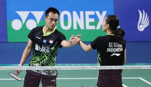 Foto Bravo! Indonesia Ganyang Malaysia, Hafiz/Gloria Melaju Final Thailand Master 2020