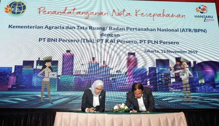 PLN Gandeng Kementerian ATR/BPN buat Selesaikan Masalah. . . - Warta Ekonomi