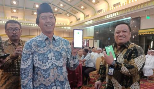 Foto Permudah Sedekah, BI Sumut Launching QRIS di Masjid