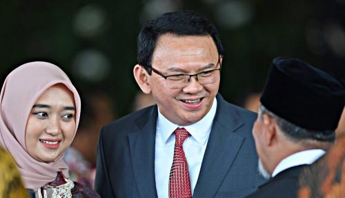 Foto Ahok Bakal Jadi Bos BUMN, Wapres Ma'ruf Terserah Presiden?