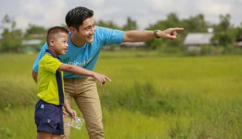 Foto Choi Siwon, Dinobatkan jadi Duta Besar Regional untuk Unicef