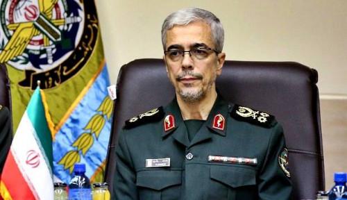 Foto Panglima Militer Klaim Iran Jadi Kekuatan Rudal Nomor 1 di Timur Tengah