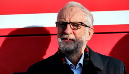 Foto Kandidat Partai Buruh Inggris: Corbyn Harus Turun!