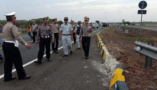 Foto Jasa Raharja Jabar Jamin Korban Laka Lantas Tol Cipali KM 117.800 Kabupaten Subang