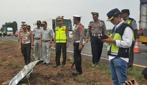 Foto Kecelakaan Tol Cipali, Jasa Raharja Jamin Santunan Semua Korban