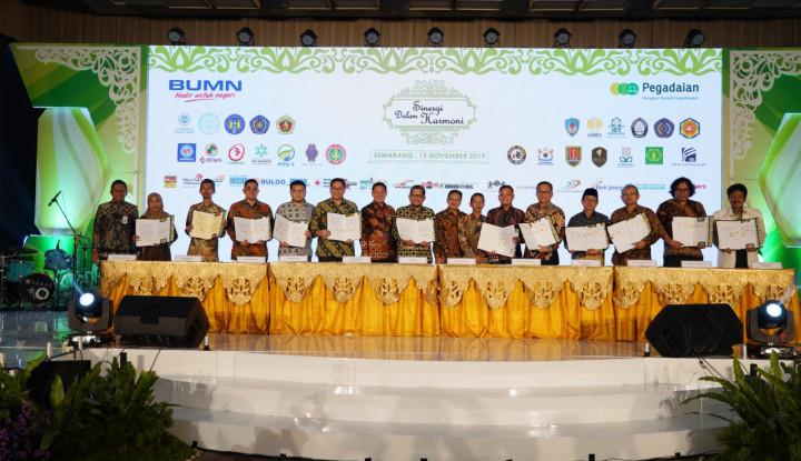 Pegadaian Bersinergi dengan 27 Perusahaan dan 13 Instansi Pendidikan di Jateng
