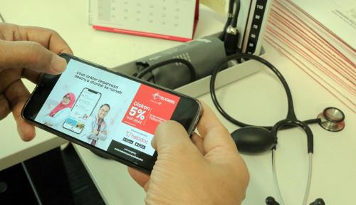 Foto Telkomsel Tebar Diskon 3 Bulan Layanan Halodoc