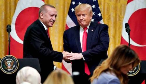 Foto Terkait Idlib, Trump Berterima Kasih pada Erdogan