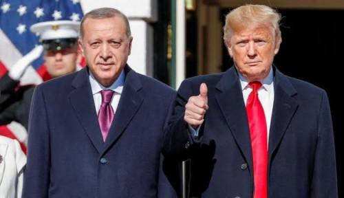 Foto Trump Bujuk Erdogan Supaya Gak Beli Sistem Pertahanan Rusia Lagi karena...